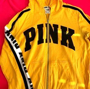 Victoria Secret Pink Zip-Up Hoodie sweater